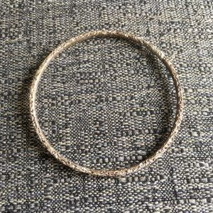 Jewelry - Genuine silver bangle bracelet
